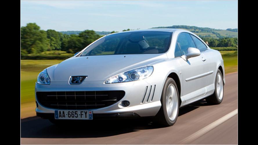 Starker Löwe: Das Peugeot 407 Coupé HDi FAP 240 im Test