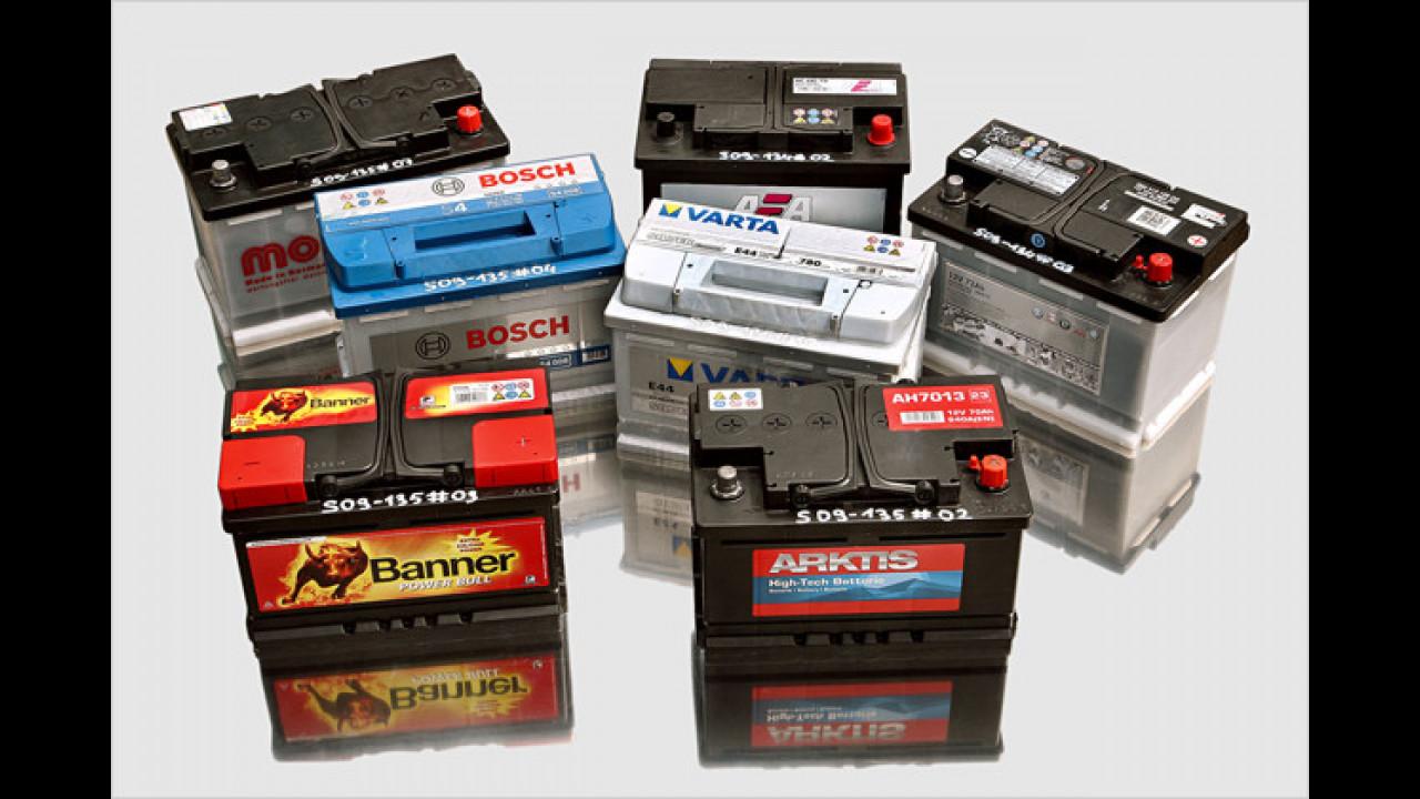 Autobatterien im Test