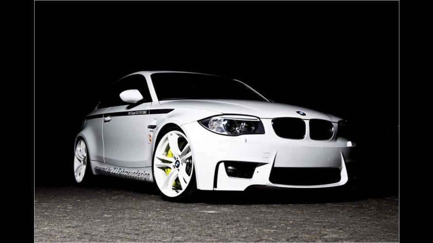 Irre stark: V10 im BMW 1er