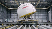 Toyota driving simulator