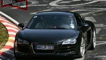 Audi R8 V10 Spotted at Nurburging