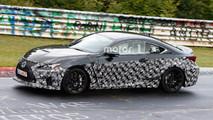 Lexus RC F Refresh Spy Photos
