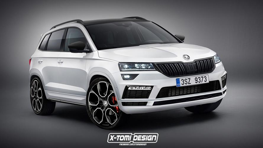 Skoda Karoq RS Under Evaluation With Electric Boost