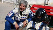 Damon Hill with his son Josh