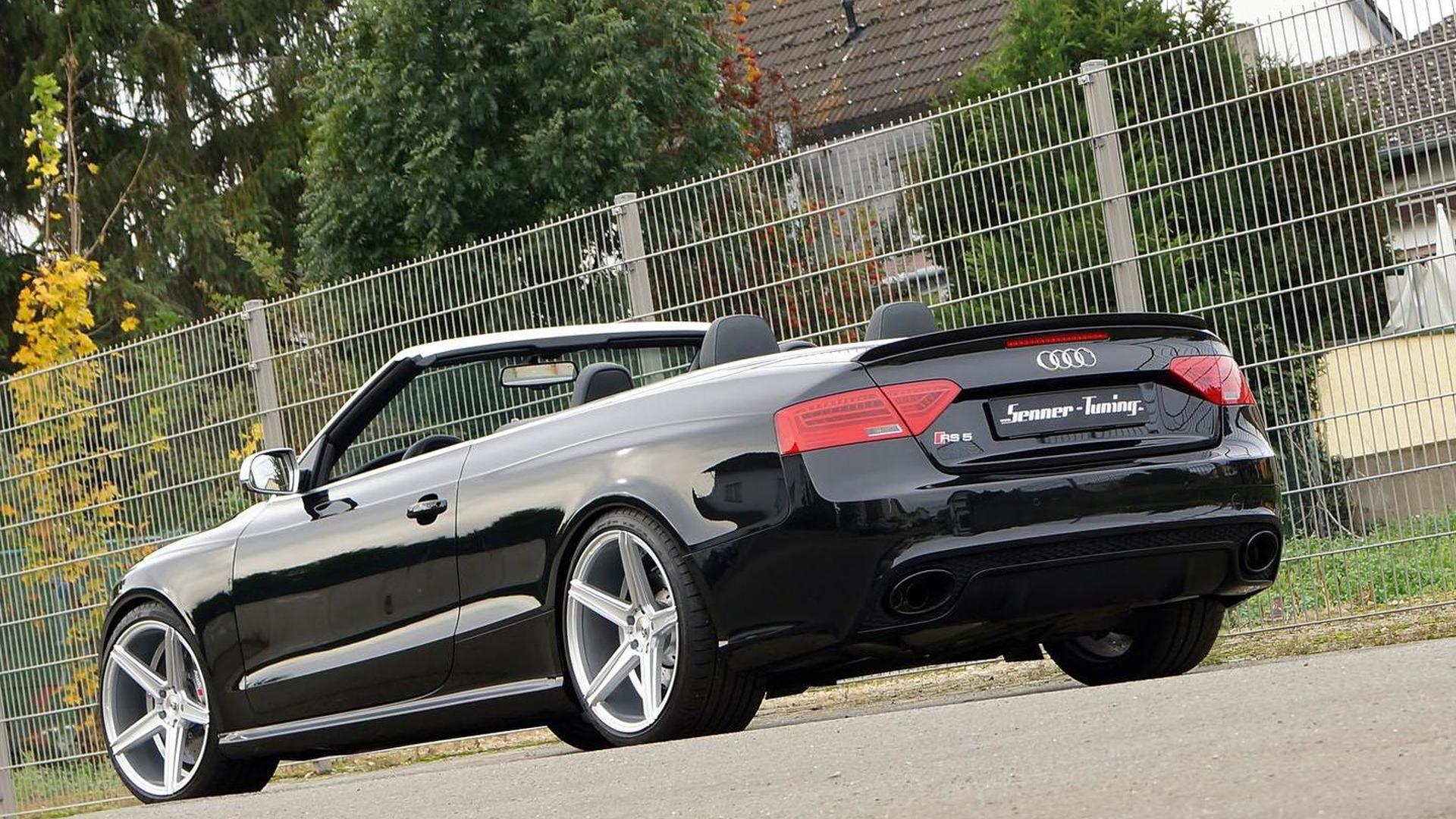 Тюнинг Audi RS5 Convertible от Senner