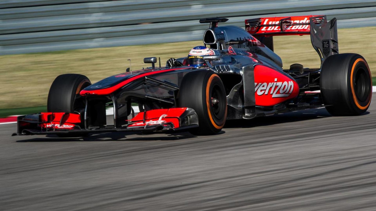 Jenson Button McLaren MP4-28 17.11.2013 United States Grand Prix
