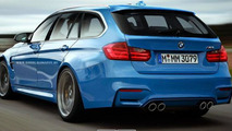 2014 BMW M3 Touring render