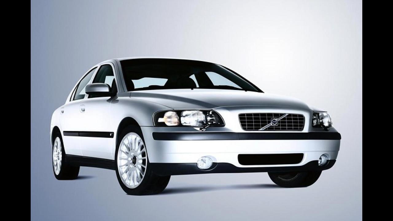 Volvos in Silber