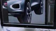 2018 VW T-Roc screenshot from teaser video
