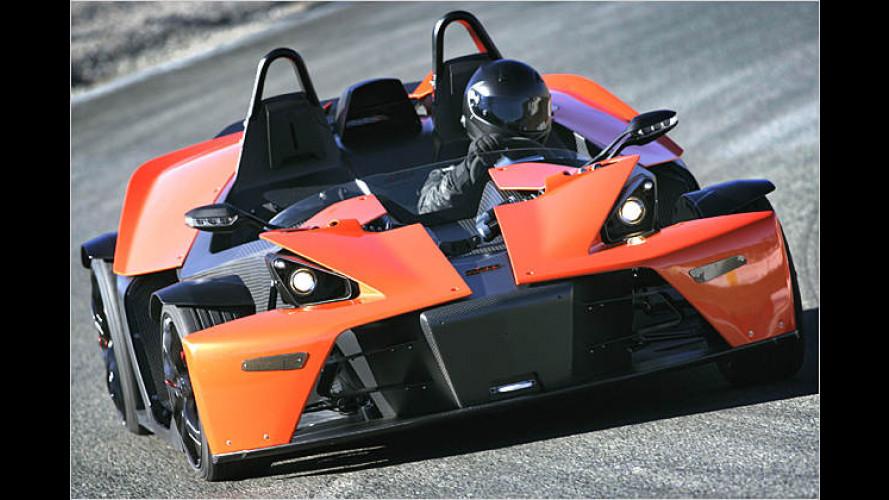 KTM bringt X-Bow in einer Kleinserie von vorerst 100 Stück