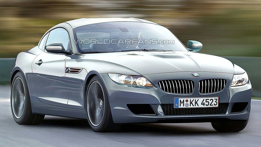 Rendered Speculation: 2010 BMW Z4 Coupe