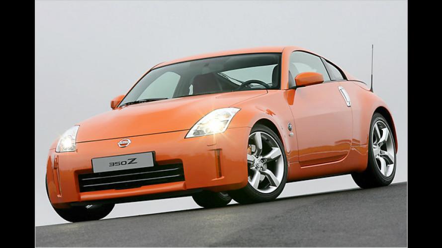 Nissan 350Z: Mehr Power unter jetzt gewölbter Haube