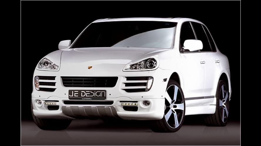 Bullig und sportlich: JE Design tunt den Porsche Cayenne