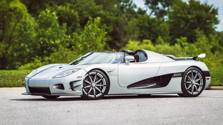 Floyd Mayweather's Koenigsegg CCXR Trevita Up For Auction [UPDATE]