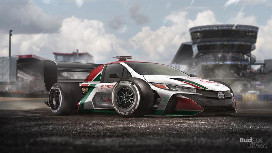 Renders: coches de calle transformados en F1