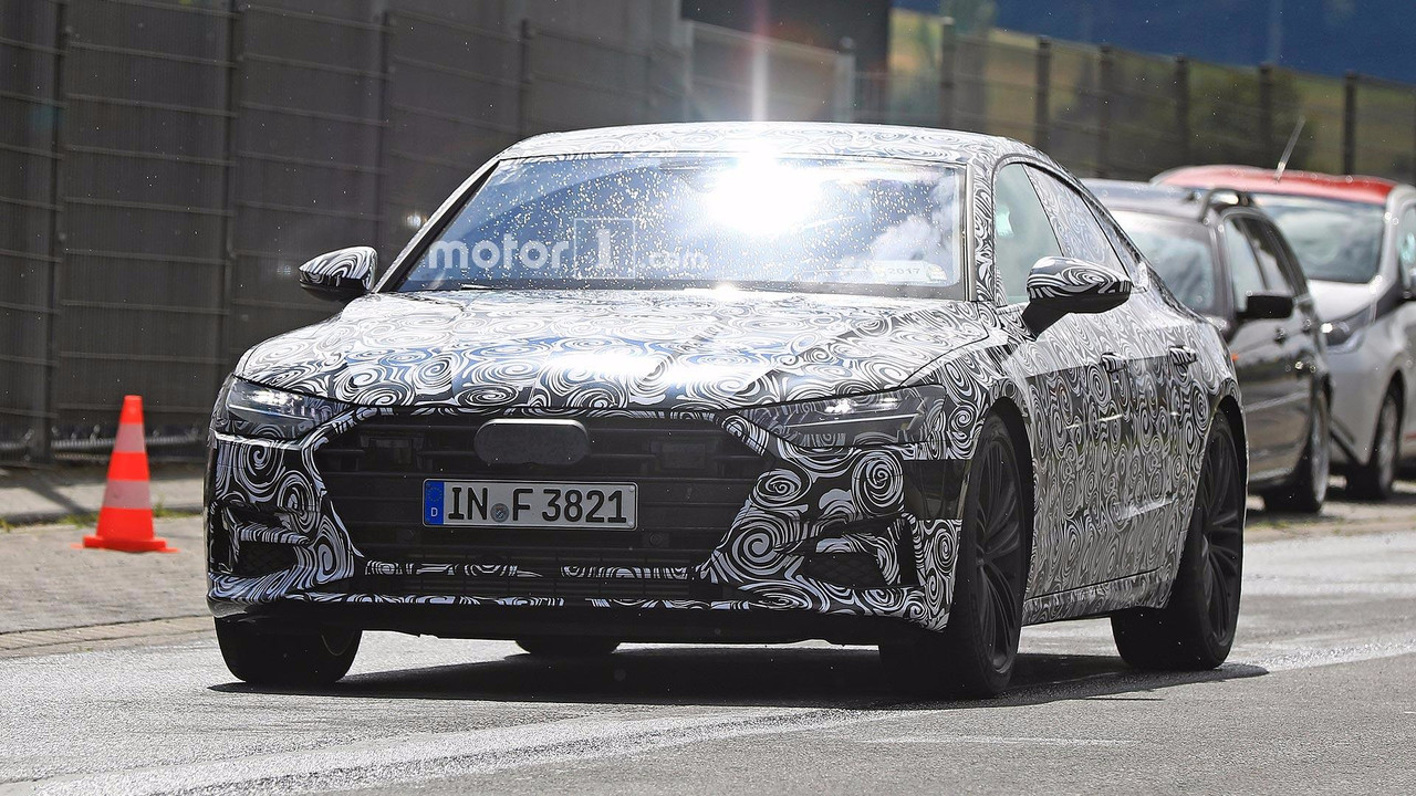 NextGen Audi A7 Sportback Shows Off Its Angles In Teaser Video