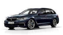 BMW Série 5 Touring rendu