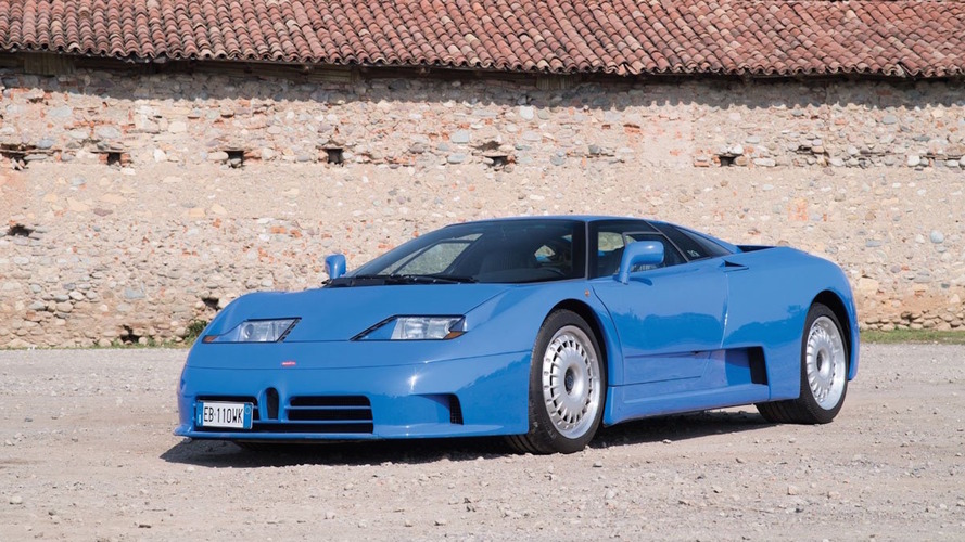 Beautiful Bugatti EB110 GT heading to auction with no reserve