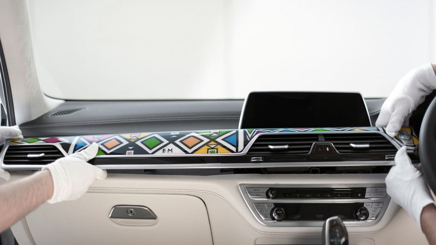 BMW 740Li Individual by Esther Mahlangu