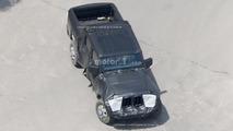 Jeep Wrangler pick-up casus fotoğrafları