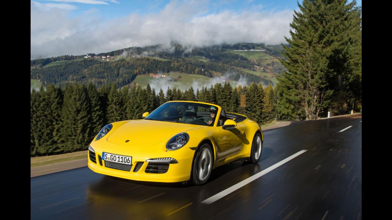 Porsche 911 Carrera 4S Cabriolet - TEST