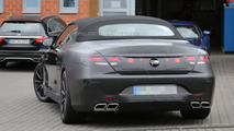 Mercedes S63 AMG Cabrio spy photo