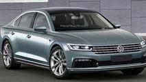 2017 Volkswagen Phaeton render