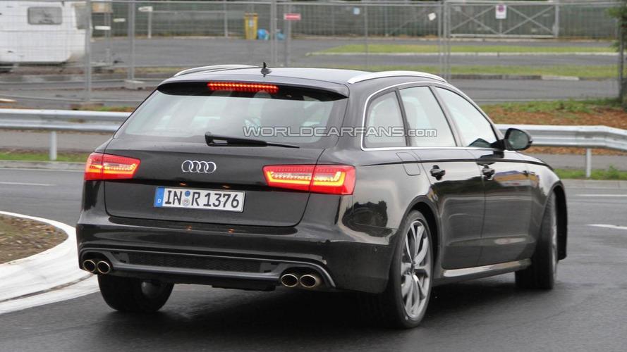 2012 Audi S6 Avant strips for the camera