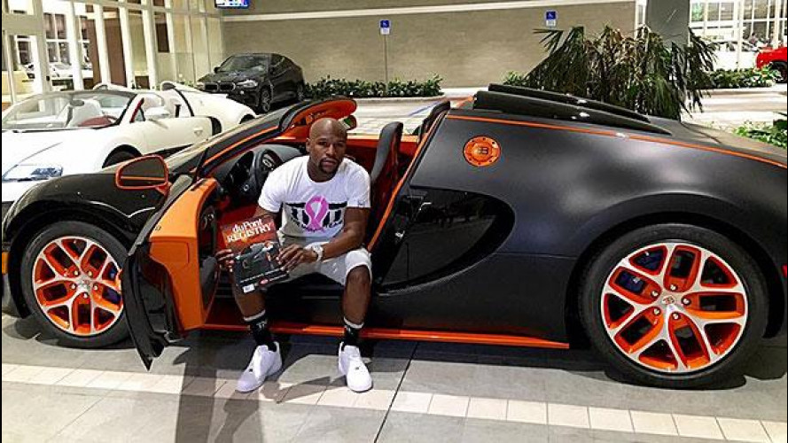 Floyd Mayweather compra la quarta Bugatti per 3,17 mln di euro