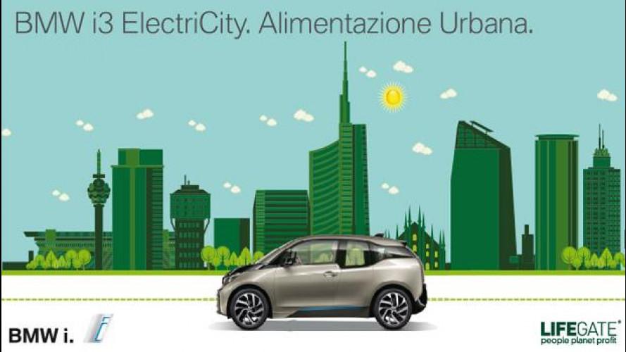 BMW e LifeGate per la mobilità sostenibile e... gustosa