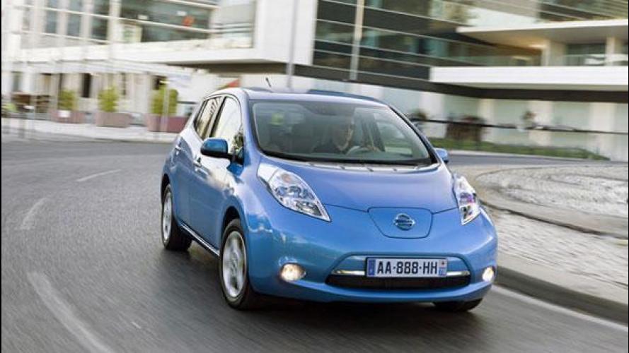 Incentivi auto 2013, Nissan li anticipa scontando ancora di più la Leaf