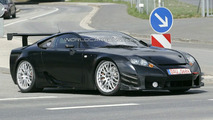 Lexus LF-A Spied in Race Ready Trim
