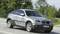 New BMW X6 Standing Next to X5 Spy Photos