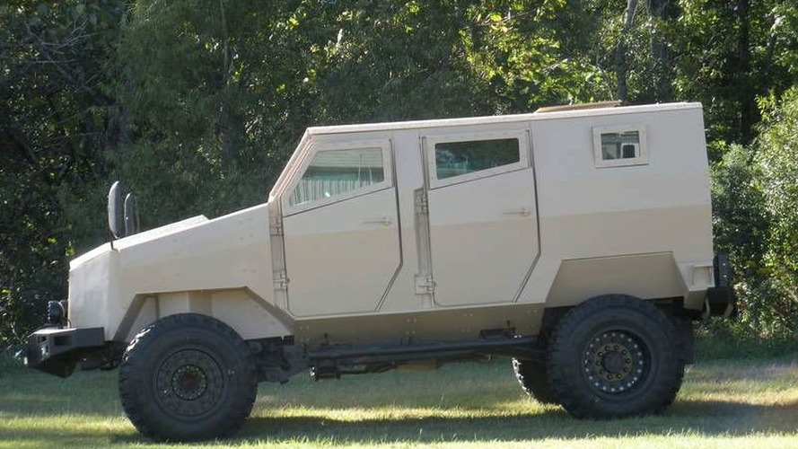 Tiger Light Protected Vehicle by Arotech Unveiled - Based on the Dodge RAM 5500