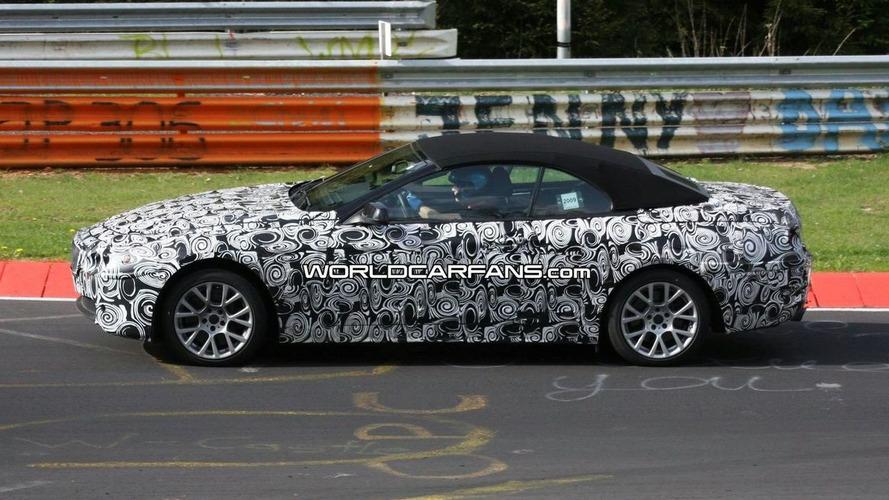 2011 BMW 6 Series Convertible Starts First Round of Nurburgring Testing