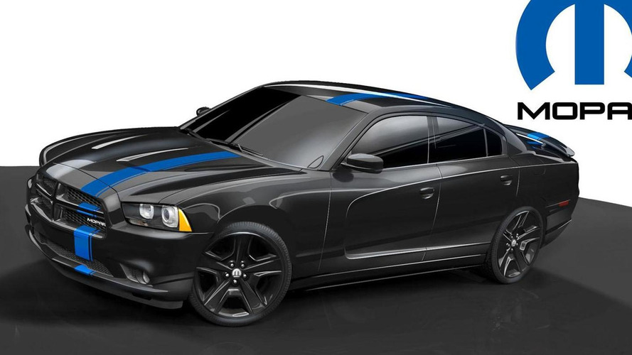 Dodge Charger Mopar teased for NY debut