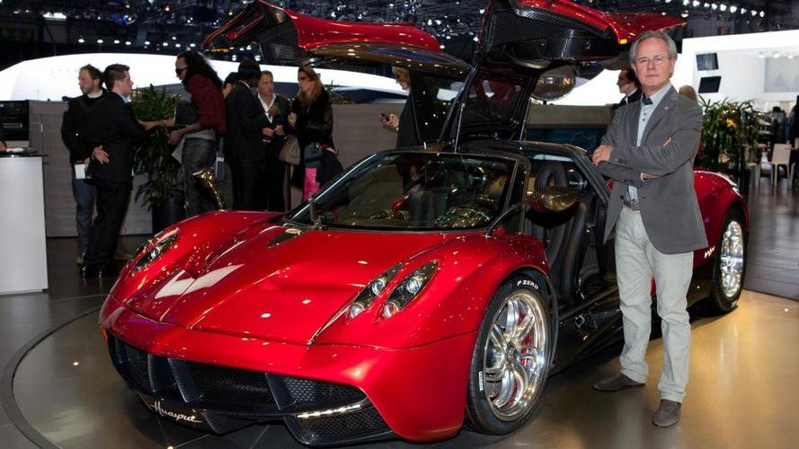 Pagani Huayra blows into Geneva