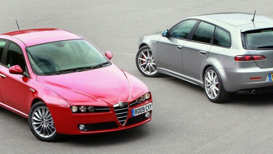 Alfa Romeo 159 Range Gets New Engines in the UK