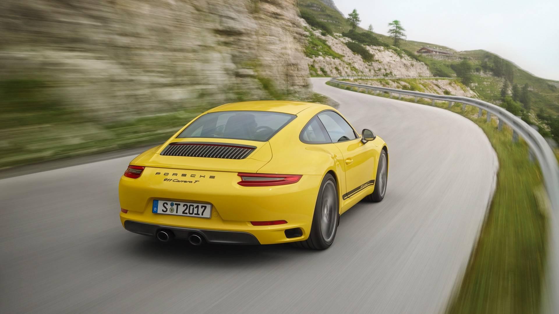 Vwvortexcom 2018 Porsche 911 Carrera T Unveiled