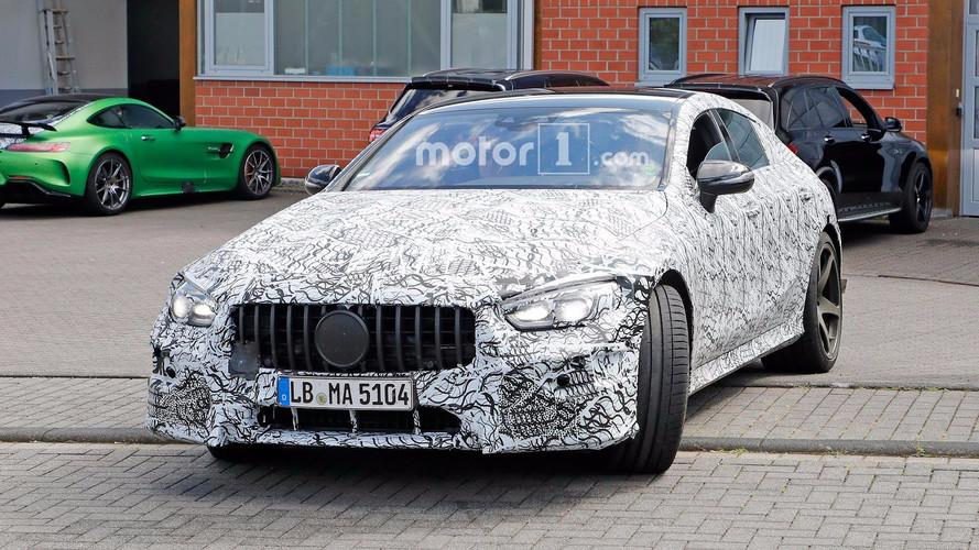 Production Mercedes-AMG GT4 Spy Camo