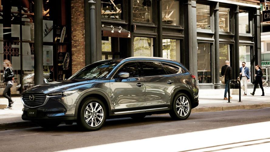 Mazda CX-8 SUV için Japonya'da ön-siparişler almaya başladı