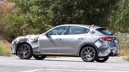 Photos espion - Maserati prépare le Levante GTS