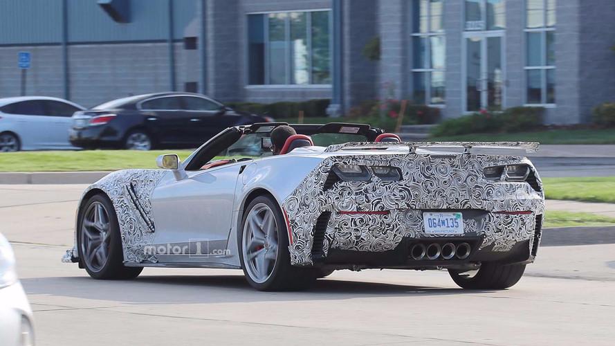 2018 Chevrolet Corvette ZR1 casus fotoğrafı
