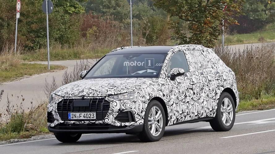 Flagra - Novo Audi Q3 será lançado em 2018 sobre a plataforma MQB
