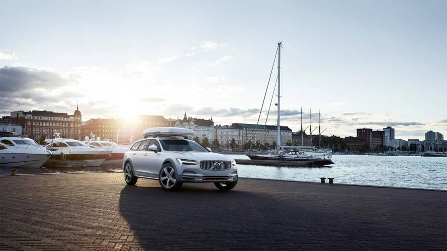 Volvo V90 Cross Country: série spéciale Ocean Race