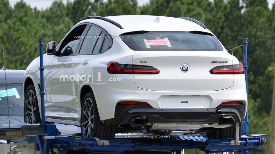 Flagra - BMW X4 2019 sem camuflagem lembra Mercedes GLC