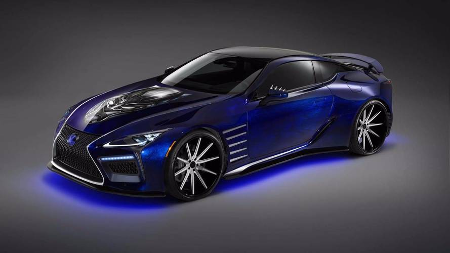 Lexus Unveils Marvelous LC Black Panther Duo For SEMA