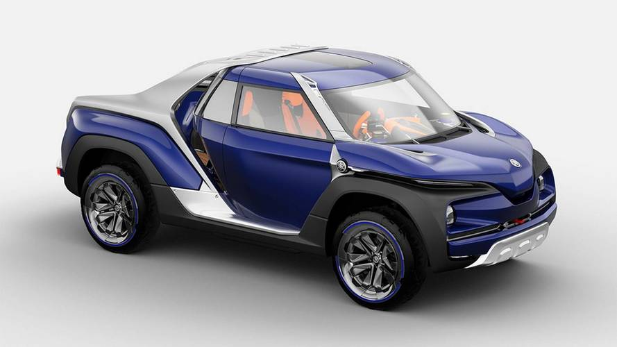 Cross Hub Concept, le pick-up selon Yamaha