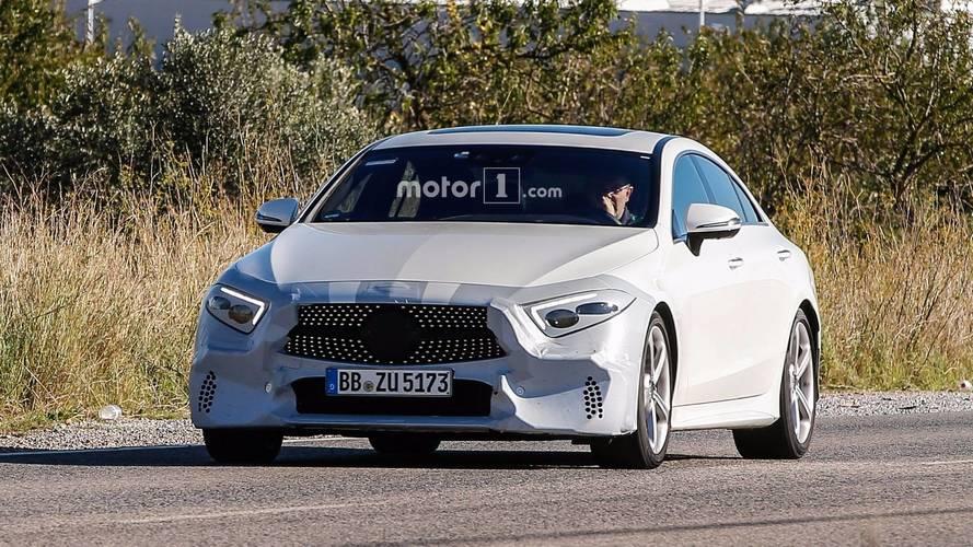 Mercedes CLS en photos espions