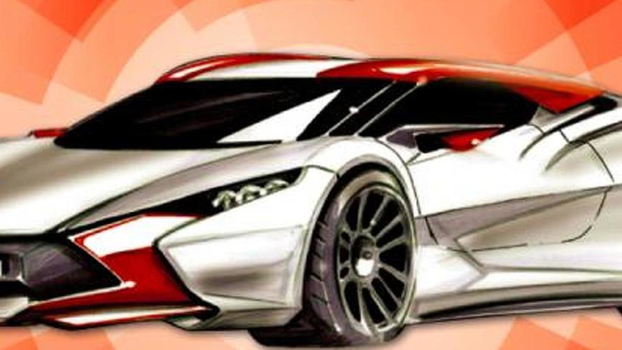 Sbarro Réact' E.V. going to Geneva Motor Show